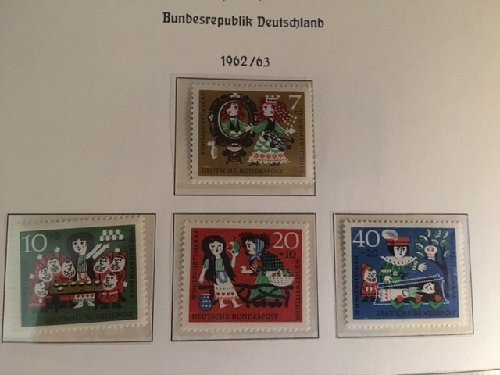 Germany Welfare Fairy tales mnh 1962