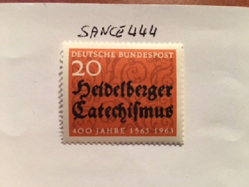 Germany Heidelberg cathechismus mnh 1963