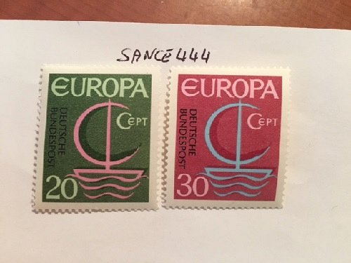 Germany Europa 1966 mnh #2