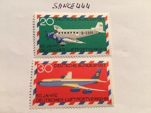 Germany Aviation mnh 1969