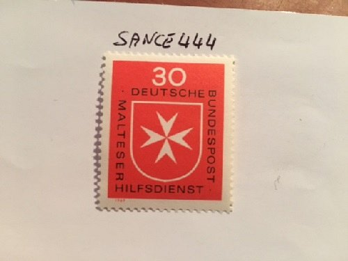Germany St Johns ambulance mnh 1969