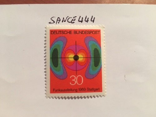 Germany Radiocommunications mnh 1969