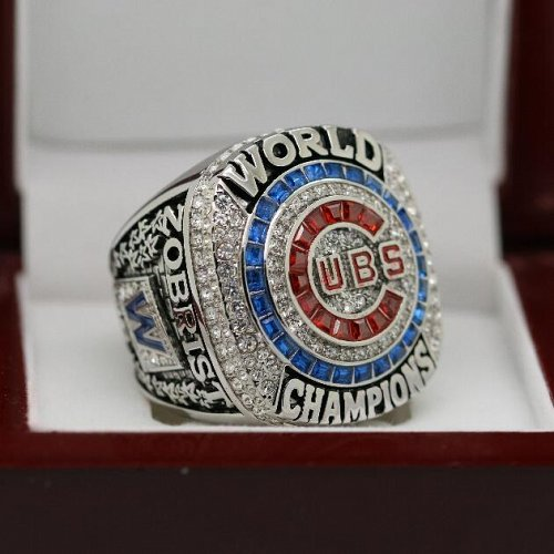 2016 Chicago Cubs MLB World Series Championship Solid Copper Ring 8-14 Size ZOBRIST