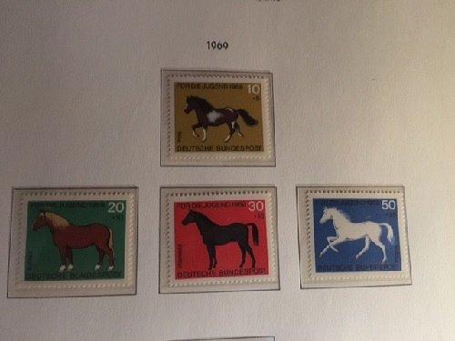 Germany Youth Horses mnh 1969