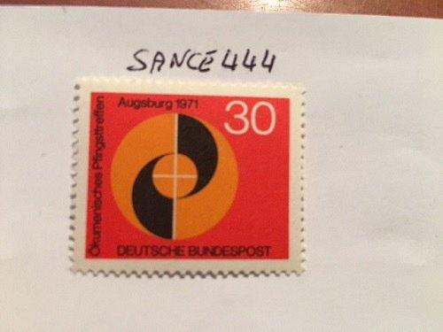 Germany Eucomenic meeting mnh 1971