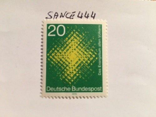 Germany Catholic mission mnh 1970