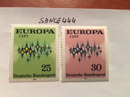 Germany Europa 1972 mnh #2
