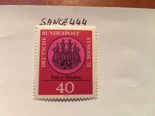 Germany Synode mnh 1972
