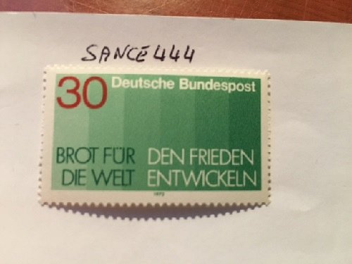 Germany Bread for the world mnh 1972