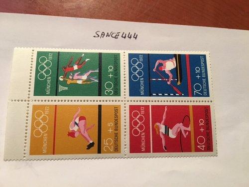 Germany Olympic Games Munich block mnh 1972