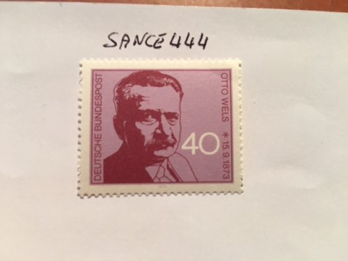 Germany Otto Wels mnh 1973