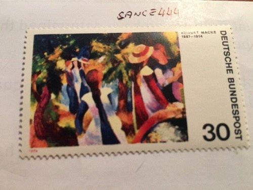Germany Painting August Macke mnh 1974