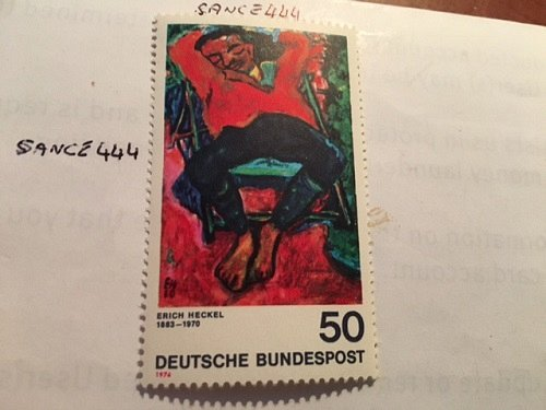 Germany Painting Erich Heckel mnh 1974