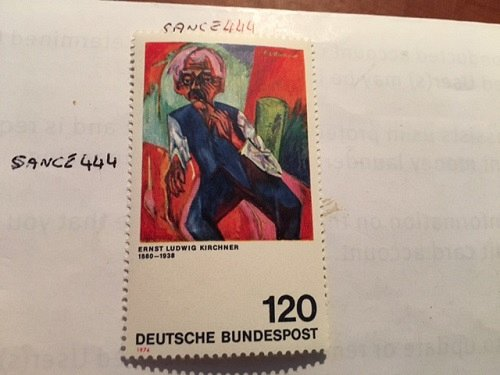 Germany Painting Ludwig Kirchner mnh 1974