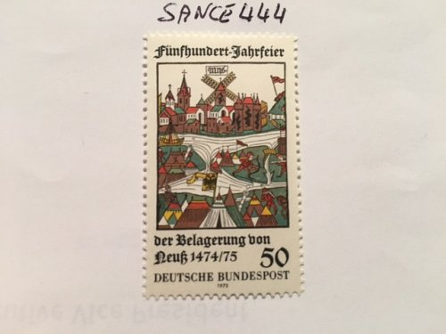 Germany Siege of Neuss mnh 1975