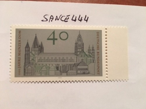 Germany Mainz cathedral millennium mnh 1975