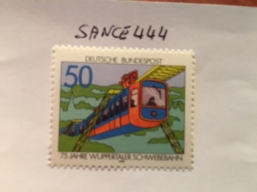 Germany The Wuppertal Aerial Cableway mnh 1976