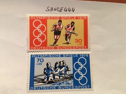 Germany Olympic Games Montreal 1976 mnh