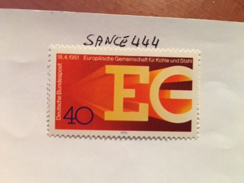 Germany European community mnh 1976