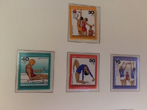 Germany Youth Olympic games mnh 1976
