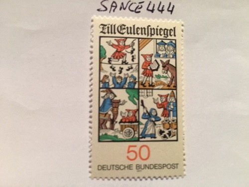 "Germany The Fairytale ""Til Eulenspiegel"" mnh 1977"