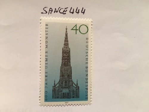 Germany Ulm cathedral mnh 1977