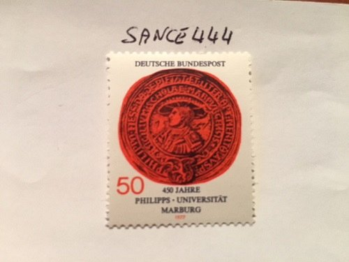 Germany Marburg university mnh 1977