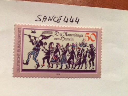 Germany Rat man of Hameln mnh 1977