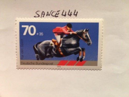 Germany Sport Horse mnh 1978