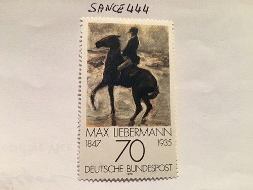 Germany Painting Max Liebermann mnh 1978