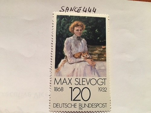 Germany Painting Max Slevogt mnh 1978