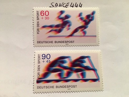 Germany Sports mnh 1979