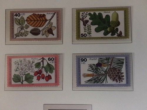 Germany Welfare Trees mnh 1979
