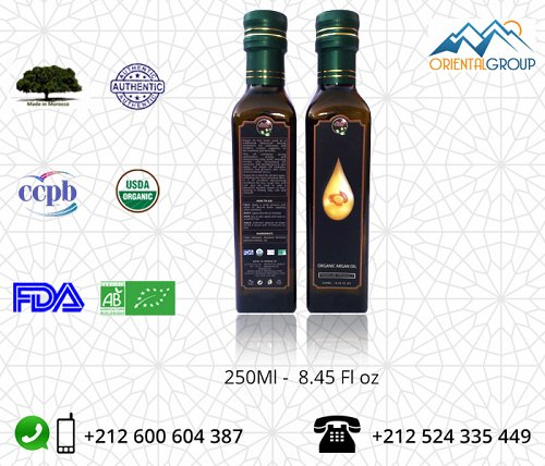 100% Organic Argan oil wholesale