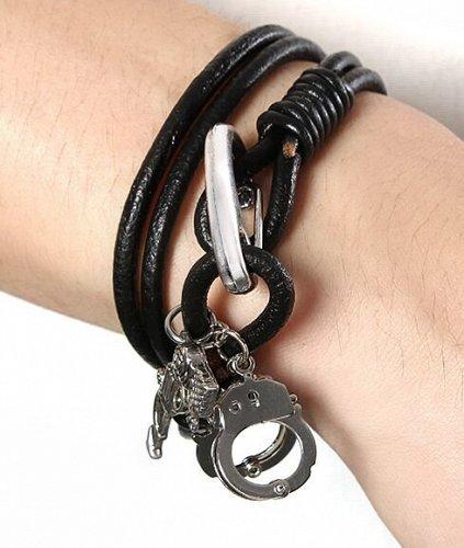women men leather Bracelet