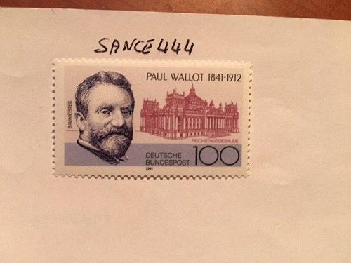 Germany Paul Wallot mnh 1991