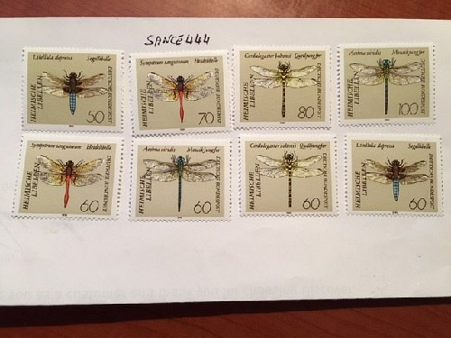 Germany Dragonflies mnh 1991