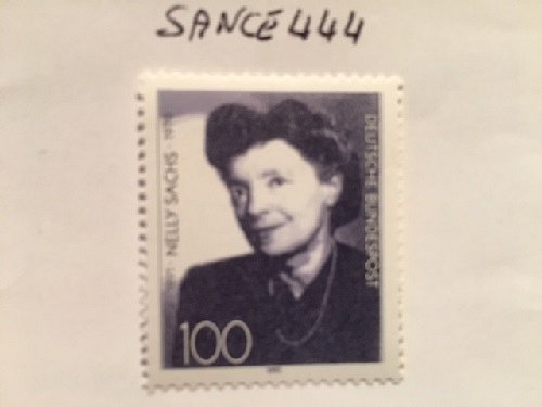Germany Nelly Sachs mnh 1991