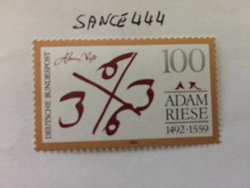 Germany Birth of Adam Riese mnh 1992