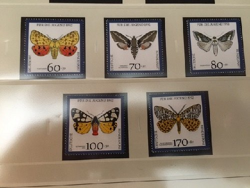 Germany Youth Butterflies mnh 1992