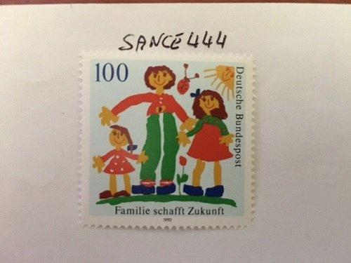 """Germany """"Family Future"""" mnh 1992"""