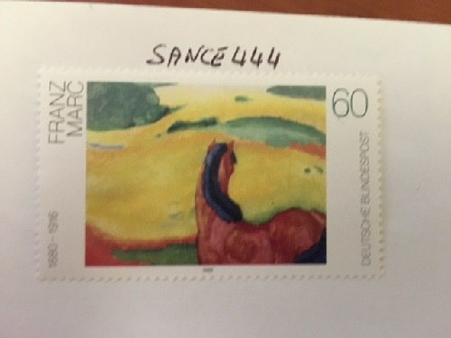 Germany Franz Marc Painting mnh 1992