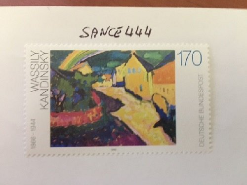 Germany Wassily Kandinsky Painting mnh 1992
