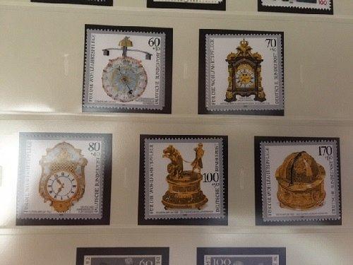 Germany Welfare Clocks mnh 1992