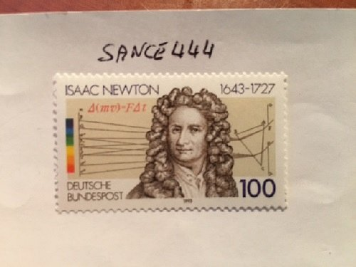 Germany Isaac Newton mnh 1993