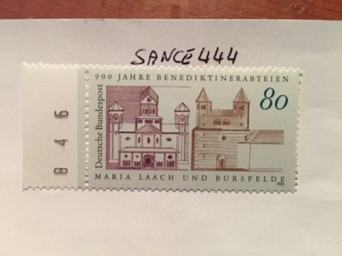 Germany Monasteries Maria Laach and Bursfelde mnh 1993