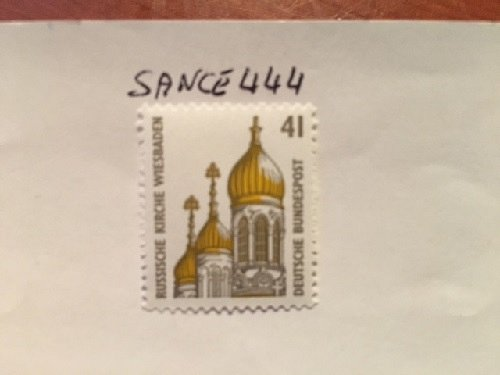 Germany Sightseeings The Russian Church mnh 1993