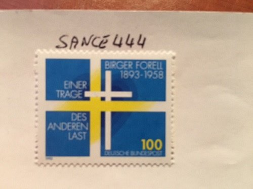 Germany Birger Forell mnh 1993