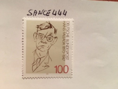 Germany Hans Fallada mnh 1993