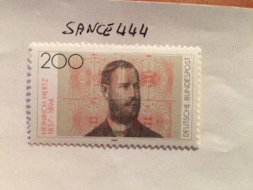 Germany Heinrich Hertz Physics mnh 1994 #2